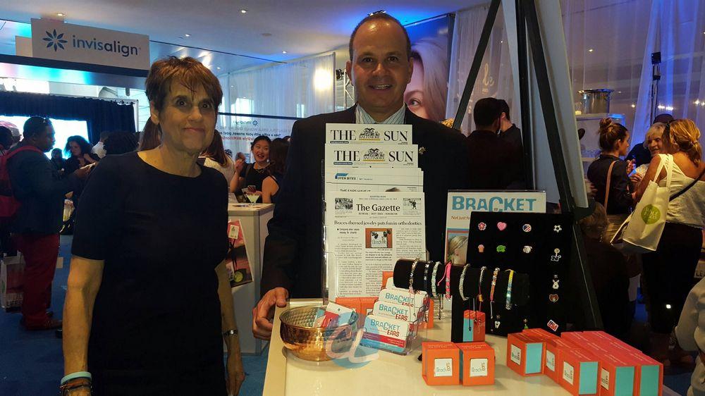 Marketing Director Jeanne Hyatt and President & CEO B.Casey Crafton of Bracket Ears